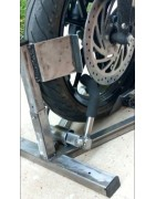 Soporte sujeta rueda antirrobo (Security WheelChock)